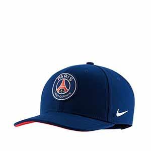 Gorra Nike PSG niño Pro - Gorra infantil Nike Paris Saint-Germain 2019 2020 - azul - frontal