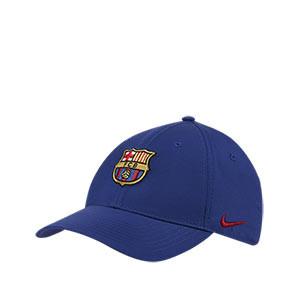 Gorra Nike Barcelona L91 niño - Gorra infantil Nike L91 FC Barcelona 2019 2020 - azul - frontal