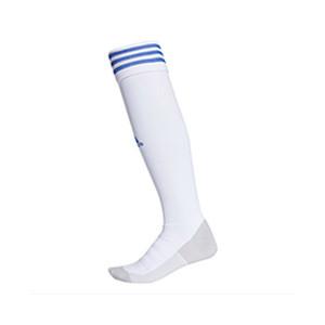 Medias adidas Adisock 18 - Medias de fútbol adidas - blancas - frontal
