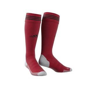 Medias adidas Adisock 18 - Medias de fútbol adidas - rojas - frontal