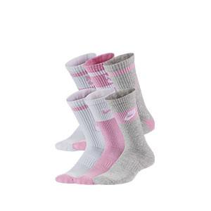 Calcetines Nike Everyday 3 pares finos - Pack de 3 calcetines de media caña alta finos Nike - multicolor
