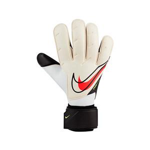 Nike GK Vapor Grip3 - Guantes de portero profesionales Nike corte Grip 3 - blancos