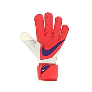 Nike GK Vapor Grip3 - Guantes de portero profesionales Nike corte Grip 3 - rosas rojizos - frontal derecho