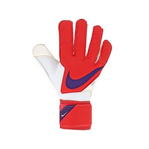Nike GK Grip3 - Guantes de portero Nike corte Grip 3 - rosas rojizos - frontal derecho