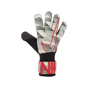 Nike GK Vapor Grip3 - Guantes de portero profesionales Nike corte Grip 3 - blancos y negros - derecho