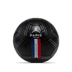 Balón Nike PSG x Jordan Strike talla 5 - Balón de fútbol Nike Pairs Saint-Germain x Jordan Strike 2019 2020 talla 5 - negro - frontal