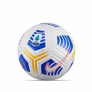 Balón Nike Serie A 2020 2021 Flight talla 5 - Balón de fútbol Nike de la Serie A 2020 2021 talla 5 - blanco