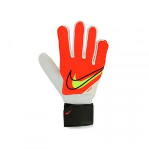 Nike GK Match - Guantes de portero Nike corte flat - rojos, blancos