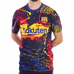Camiseta Nike Barça pre-match Strike 2019 2020 - Camiseta de calentamiento Nike FC Barcelona 2019 2020 - varios colores - frontal