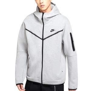 Sudadera Nike Sportswear Tech Fleece Hoodie - Sudadera con capucha de algodón Nike - gris - miniatura