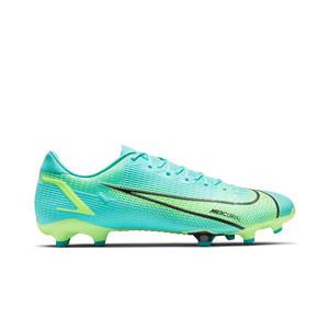 Nike Mercurial Vapor 14 Academy FG/MG - Botas de fútbol Nike FG/MG para césped artificial - azules turquesa - pie derecho