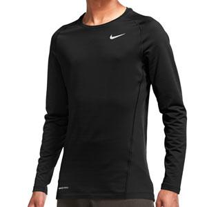 Camiseta interior térmica Nike Pro Warm - Camiseta interior compresiva de manga larga Nike - negra