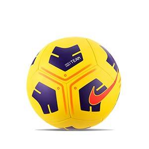 Balón Nike Park Team talla 5 - Balón de fútbol Nike talla 5 - amarillo - frontal