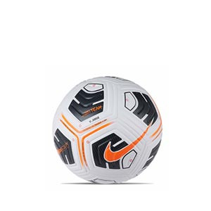 Balón Nike Academy Team IMS talla 3 - Balón de fútbol infantil Nike Team talla 3 - blanco y naranja - frontal