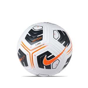 Balón Nike Academy Team IMS talla 5 - Balón de fútbol Nike Team talla 5 - blanco y naranja - frontal