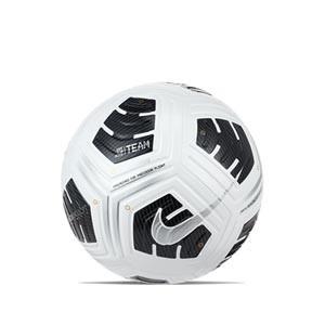 Balón Nike Club Elite Team talla 5 - Balón de fútbol profesional Nike en talla 5 - blanco y negro - frontal