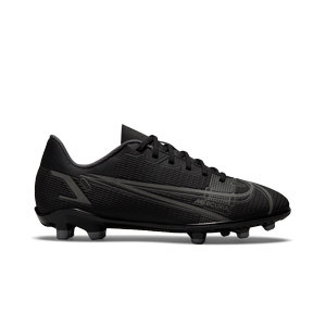 Nike Mercurial Jr Vapor 14 Club FG/MG - Botas de fútbol infantiles Nike FG/MG para césped natural o artificial - negras