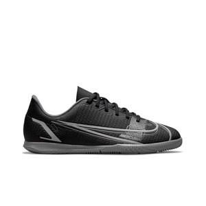 Nike Mercurial Jr Vapor 14 Club IC - Zapatillas fútbol sala infantiles Nike suela lisa IC - negras