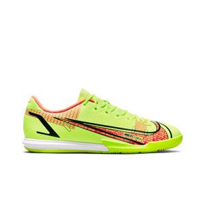 Nike Mercurial Vapor 14 Academy IC - Zapatillas de fútbol sala Nike suela lisa IC - amarillas flúor, rojas