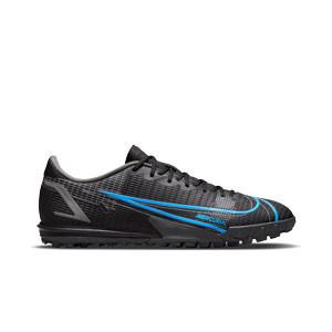Nike Mercurial Vapor 14 Academy TF - Zapatillas de fútbol multitaco Nike suela turf - negras