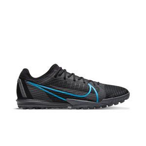 Nike Mercurial Zoom Vapor 14 Pro TF - Zapatillas de fútbol multitaco Nike suela turf - negras