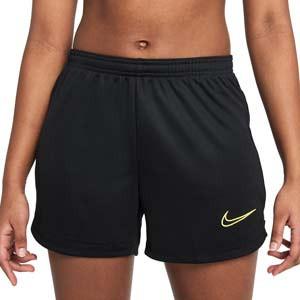 Short Nike Dri-Fit Academy 21 mujer - Pantalón corto de entrenamiento de fútbol para mujer Nike - negro - frontal