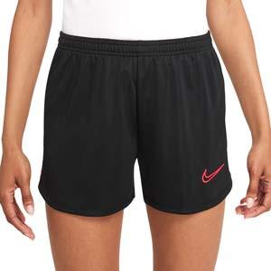 Short Nike Dri-Fit Academy 21 mujer - Pantalón corto de entrenamiento de fútbol para mujer Nike - negro