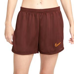 Short Nike Dri-Fit Academy 21 mujer - Pantalón corto de entrenamiento de fútbol para mujer Nike - bronce