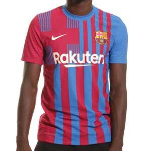Camiseta Nike Barcelona 2021 2022 Dri-Fit ADV Match - Camiseta auténtica primera equipación Nike del FC Barcelona 2021 2022 - azulgrana - completa frontal