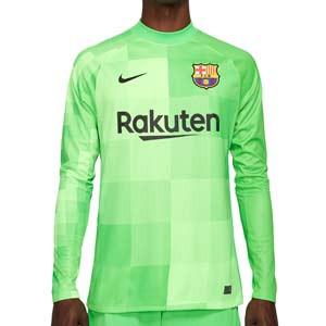 Camiseta Nike Barcelona portero 2021 2022 Stadium - Camiseta de manga larga de portero Nike del FC Barcelona 2021 2022 - verde