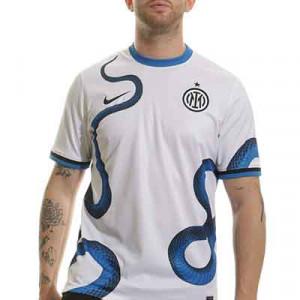 Camiseta Nike 2a Inter 2021 2022 Dri-Fit Stadium - Camiseta segunda equipación Nike Inter de Milán 2021 2022 - blanca