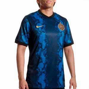 Camiseta Nike Inter 2021 2022 Dri-Fit Stadium - Camiseta primera equipación Nike del Inter de Milán 2021 2022 - azul y negra
