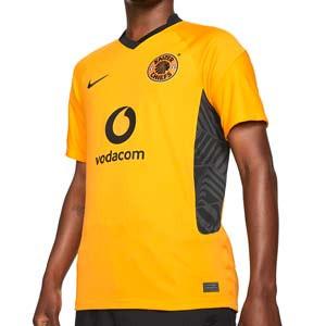Camiseta Nike Kaizer Chiefs 2021 2022 Dri-Fit Stadium - Camiseta primera equipación Nike Kaizer Chiefs 2021 2022 - amarilla