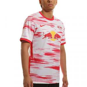 Camiseta Nike Red Bull Leipzig 2021 2022 Stadium - Camiseta primera equipación Nike Red Bull Leipzig 2021 2022 - blanca, roja