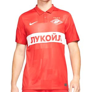 Camiseta Nike Spartak Moscú 2021 2022 Dri-Fit Stadium - Camiseta primera equipación Nike Spartak de Moscú 2021 2022 - roja