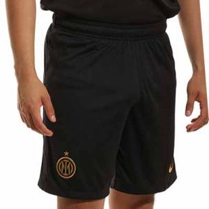 Short Nike Inter 2021 2022 Dri-Fit Stadium - Pantalón corto primera equipación Nike del Inter de Milán 2021 2022 - negro