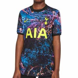 Camiseta Nike 2a Tottenham 2021 2022 niño Dri-Fit Stadium