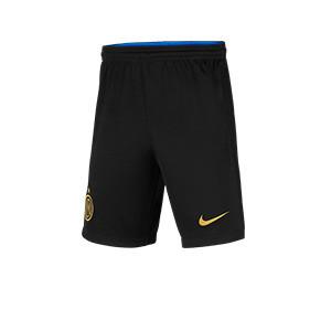 Short Nike Inter 2021 2022 niño Dri-Fit Stadium - Pantalón corto primera equipación infantil Nike del Inter de Milán 2021 2022 - negro
