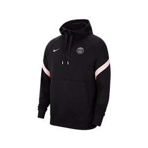 Sudadera Nike PSG Travel Fleece Hoodie - Sudadera con capucha de paseo Nike del París Saint-Germain - negra