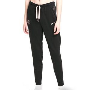 Pantalón Nike PSG mujer Travel - Pantalón largo de paseo para mujer Nike del París Saint-Germain - negro