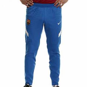 Pantalón Nike Barcelona entrenamiento Dri-Fit ADV Elite - Pantalón largo de entrenamiento Nike del FC Barcelona - azul - completa frontal