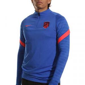 Sudadera Nike Atlético entrenamiento Dri-Fit Strike - Sudadera de entrenamiento Nike del Atlético de Madrid - azul