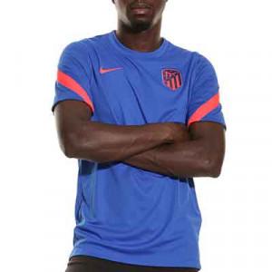 Camiseta Nike Atlético entrenamiento Dri-Fit Strike - Camiseta de manga corta de entrenamiento Nike del Atlético de Madrid - azul