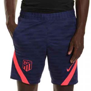 Pantalón Nike Atlético entrenamiento Dri-Fit Strike - Pantalón corto de entrenamiento Nike del Atlético de Madrid - azul marino