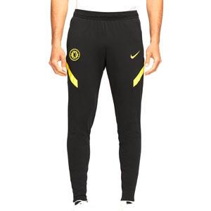 Pantalón Nike Chelsea entrenamiento Dri-Fit Strike - Pantalón largo de entrenamiento Nike del Chelsea FC - negro