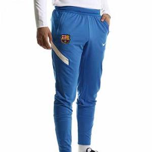 Pantalón Nike Barcelona entrenamiento Dri-fit Strike - Pantalón largo de entrenamiento Nike del FC Barcelona - azul - completa frontal