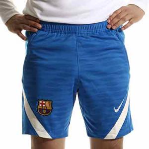 Short Nike Barcelona entrenamiento Dri-Fit Strike - Pantalón corto de entrenamiento Nike del FC Barcelona - azul - completa frontal