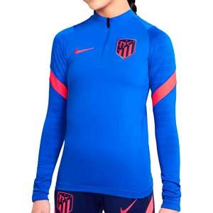 Sudadera Nike Atlético entrenamiento Dri-Fit Strike - Sudadera infantil de entrenamiento Nike del Atlético de Madrid - azul