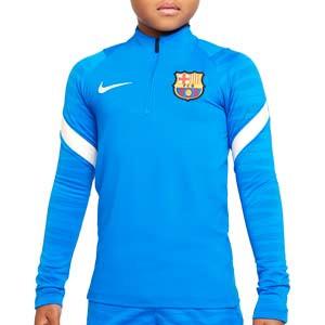 Sudadera Nike Barcelona entrenamiento niño Dri-Fit Strike