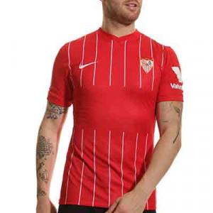 Camiseta Nike 2a Sevilla 2021 2022 - Camiseta segunda equipación Nike del Sevilla FC 2021 2022 - roja